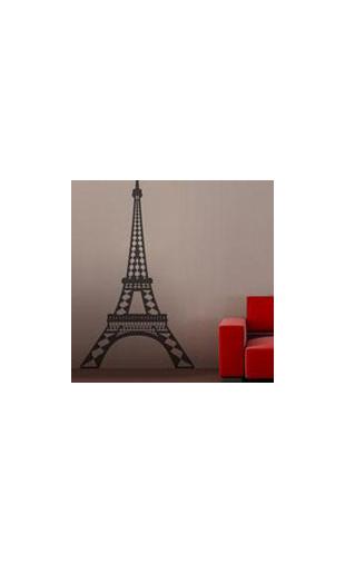 sticker tour eiffel 2 vinyz. Black Bedroom Furniture Sets. Home Design Ideas