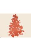 Sticker branche fleur hibiscus
