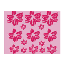 Kit stickers de fleurs