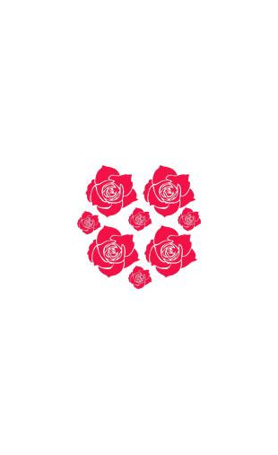 Kit stickers de fleurs 2