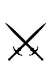 Sticker épées