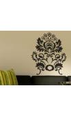 Sticker floral baroque
