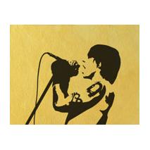 Sticker chanteur hot