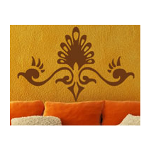 Sticker motif baroque