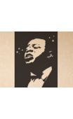 Sticker portrait trompettiste