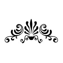 Sticker motif baroque 2