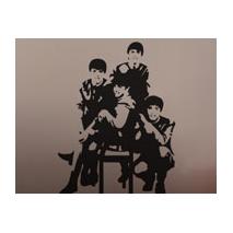 Sticker 4 garçons
