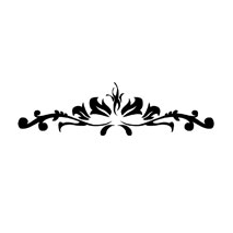 Sticker motif baroque 4
