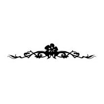 Sticker motif baroque 6