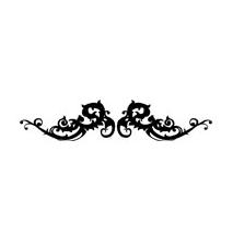 Sticker motif baroque 7