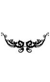 Sticker motif baroque 8