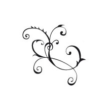 Sticker motif baroque 9
