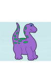 Sticker dinosaure enfant