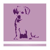 Sticker bébé Labrador