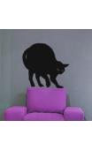 Sticker Chat Effrayé