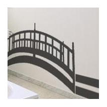 Sticker pont asiatique