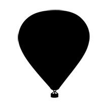 Sticker Ballon montgolfiere