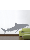 Sticker Requin Tigre