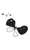 Sticker Papillion Tim