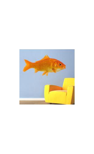 Sticker Comme un poisson dans l'eau