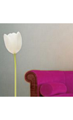 Sticker tulipe blanche