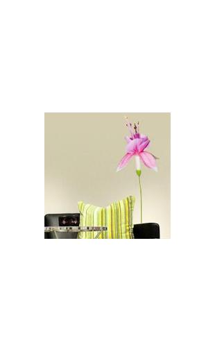 Sticker fleur exotique