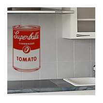 Sticker Superball's soup