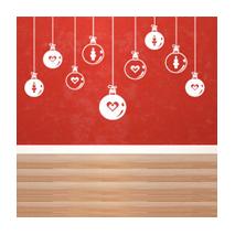 Sticker Boules de Noël 2