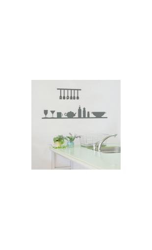 Sticker étagère cuisine