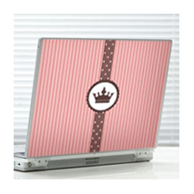 Sticker couronne de princesse