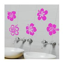 Stickers Fleurs Hibiscus 1