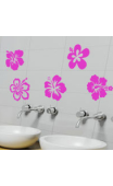 Stickers Fleurs Hibiscus
