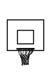 Sticker Panier de Basket