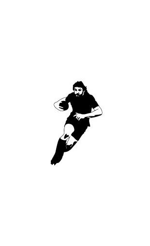 Sticker Huummmm Rugby