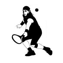 Sticker Tennis
