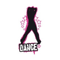 Sticker Danseuse Sexy