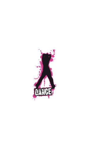 Sticker Dance Girl