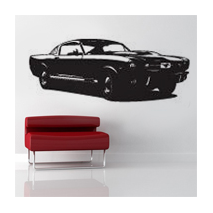 Sticker Mustang vintage