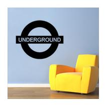 Sticker london underground