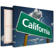 Tableau photo sur toile California