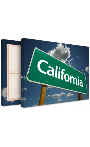 Photo sur toile California