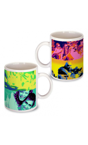 Mug Pop Art Andy 4 photos