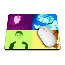 Tapis souris 4 photos pop art