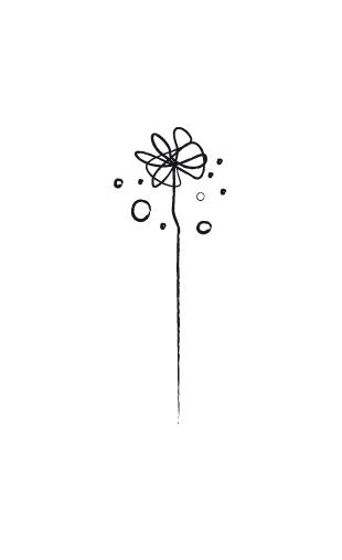 Sticker design fleur-3