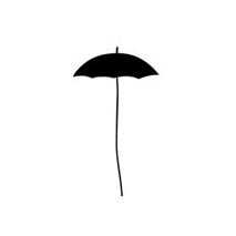 Sticker parapluie design-2