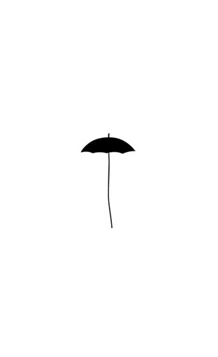 Sticker parapluie design-2