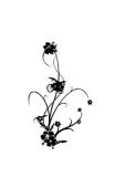 Sticker fleur forme6