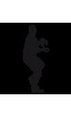 Sticker baseball lanceur