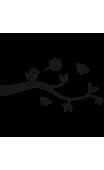 Sticker Oiseau Qui Chante Uni