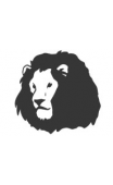 Sticker lion
